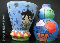 学生陶艺作品