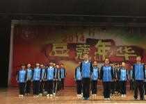 """我校举行""""诵中华经典,扬传统美德""""诵读比赛"""