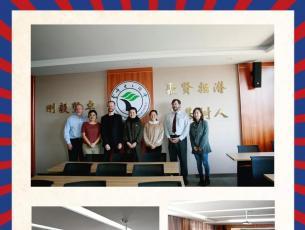 国际交流:欢迎渥太华大学访问团来我校参观交流